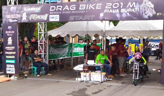 Eksistensi Oli Top 1 Di Pentas Balap Full Support Drag Bike 2020