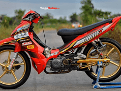 Modifikasi Jupi Takalar Road Race Ok Dragbike Yes Menajemen Turbulensi Gas Buang Proliner 3